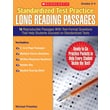 Scholastic Standardized Test Practice: Long Reading Passages: Grades 3-4