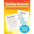 Scholastic Reading Response Activities With Graphic Organizers