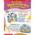 Scholastic Vocabulary Word-of-the-Day Writing Prompts