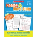 Scholastic Week-by-Week Phonics & Word Study Activities for the Intermediate Grades