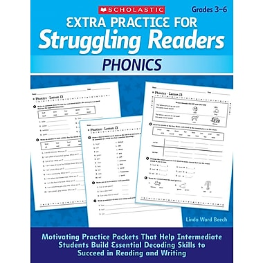 Scholastic Extra Practice for Struggling Readers: Phonics