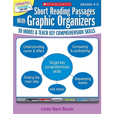 Scholastic Short Reading Passages With Graphic Organizers, Grades 4–5