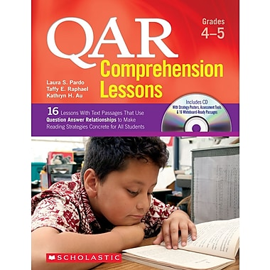 Scholastic QAR Comprehension Lessons: Grades 4–5