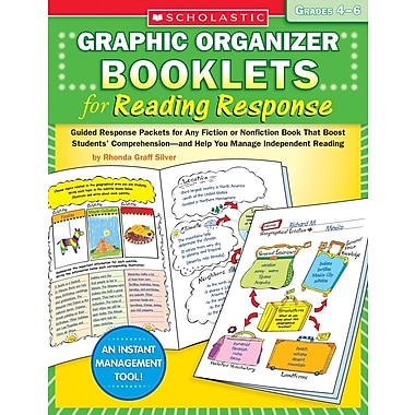 Scholastic Graphic Organizer Booklets for Reading Response: Grades 2–3