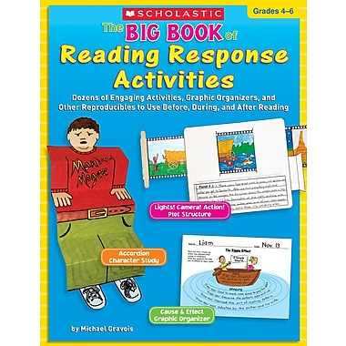 Scholastic The Big Book of Reading Response Activities: Grades 4–6