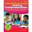 Scholastic Leveled Nonfiction Passages for Building Comprehension