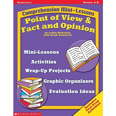 Scholastic Comprehension Mini-Lessons: Point of View & Fact and Opinion