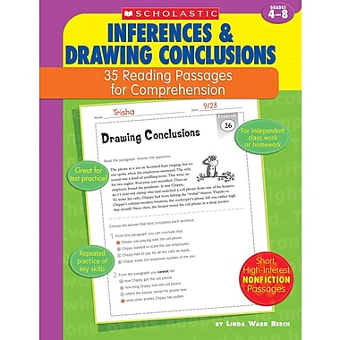 Scholastic 35 Reading Passages for Comprehension: Context Clues & Figurative Language