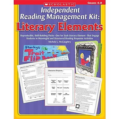Scholastic Independent Reading Management Kit: Literary Elements