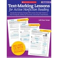 Scholastic Text-Marking Lessons for Active Nonfiction Reading (Grades 4-8)