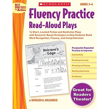 Scholastic Fluency Practice Read-Aloud Plays: Grades 5–6