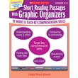 Scholastic Short Reading Passages With Graphic Organizers: Grades 6 - 8
