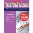 Scholastic Reading, Standardized Test Practice: Long Reading Passages: Grades 5-6