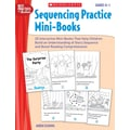 Scholastic Sequencing Practice Mini-Books: Grades K–1