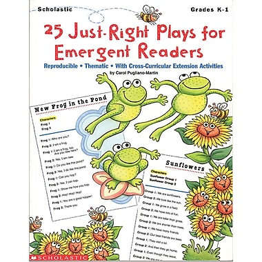 Scholastic 25 Just-Right Plays for Emergent Readers