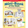 Scholastic Mini-Book of the Week