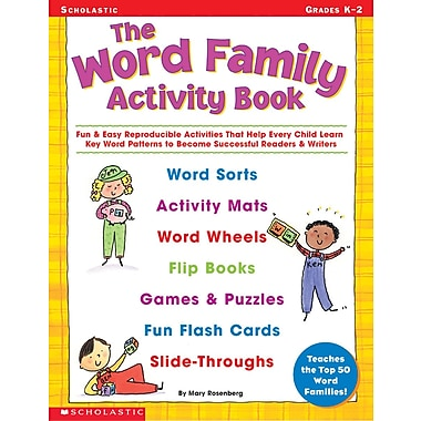 Scholastic The Word Family Activity Book