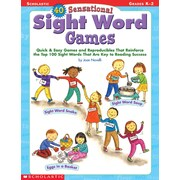 Scholastic 40 Sensational Sight Word Games