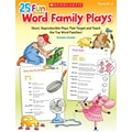 Scholastic 25 Fun Word Family Plays