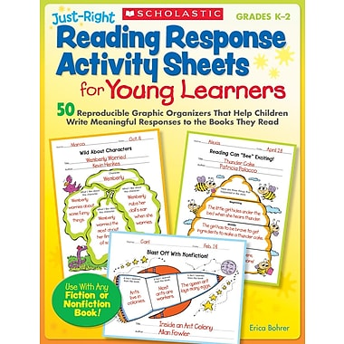 Scholastic Just-Right Reading Response Activity Sheets for Young Learners