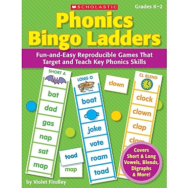 Scholastic Phonics Bingo Ladders