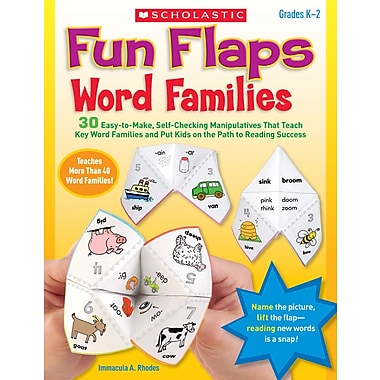 Scholastic Fun Flaps: Word Families
