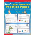 Scholastic AlphaTales: A to Z Letter Formation Practice Pages