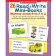 Scholastic 26 Read & Write Mini-Books: Beginning Sounds From A to Z