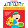 Scholastic First Homework: Alphabet