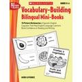 Scholastic Vocabulary-Building Bilingual Mini-Books
