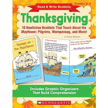 Scholastic Read & Write Booklets: Thanksgiving