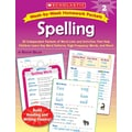 Scholastic Week-by-Week Homework Packets: Spelling: Grade 2