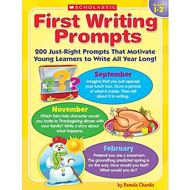 Scholastic First Writing Prompts