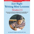 Scholastic Just-Right Writing Mini-Lessons: Grades 2-3