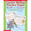 Scholastic Cursive Writing Practice Pages With a Twist!