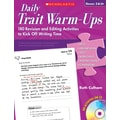 Scholastic Daily Trait Warm-Ups