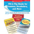 Scholastic Fill-in Flip Books for Grammar, Vocabulary, and More