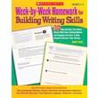 Scholastic Week-by-Week Homework for Building Grammar, Usage and Mechanics Skills