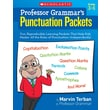 Scholastic Professor Grammar's Punctuation Packets
