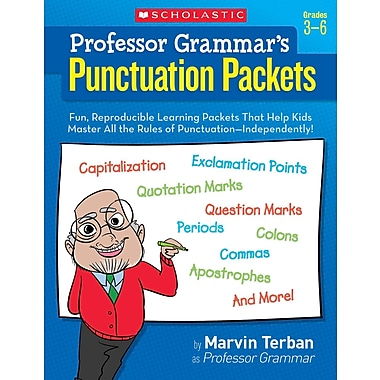 Scholastic Professor Grammar's Punctuation Packets