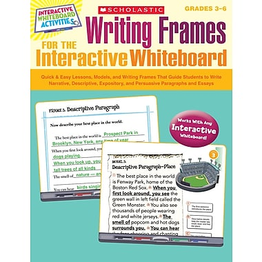 Scholastic Writing Frames for the Interactive Whiteboard