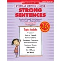 Scholastic Overhead Writing Lessons: Strong Sentences