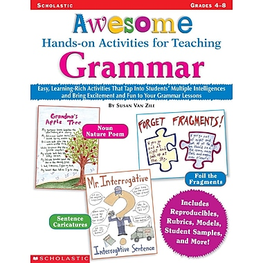 Scholastic Awesome Hands-on Activities for Teaching Grammar