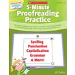 Scholastic 5-Minute Proofreading Practice
