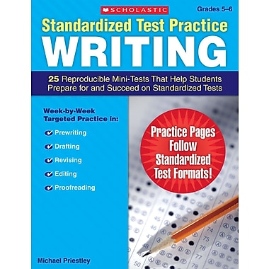 Scholastic Standardized Test Practice: Writing: Grades 3–4