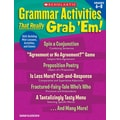 Scholastic Grammar The Scholastic Differentiated Instruction Plan Book