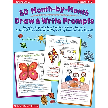 Scholastic 50 Month-by-Month Draw & Write Prompts