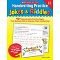 Scholastic Handwriting Practice: Jokes & Riddles