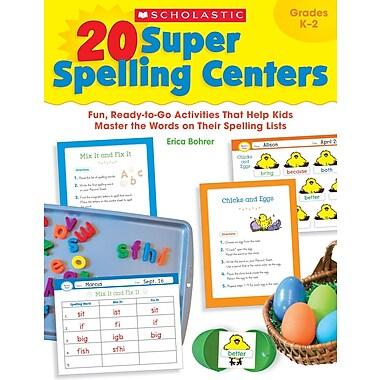 Scholastic 20 Super Spelling Centers
