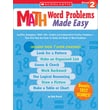 Scholastic Math Word Problems Made Easy: Grade 2